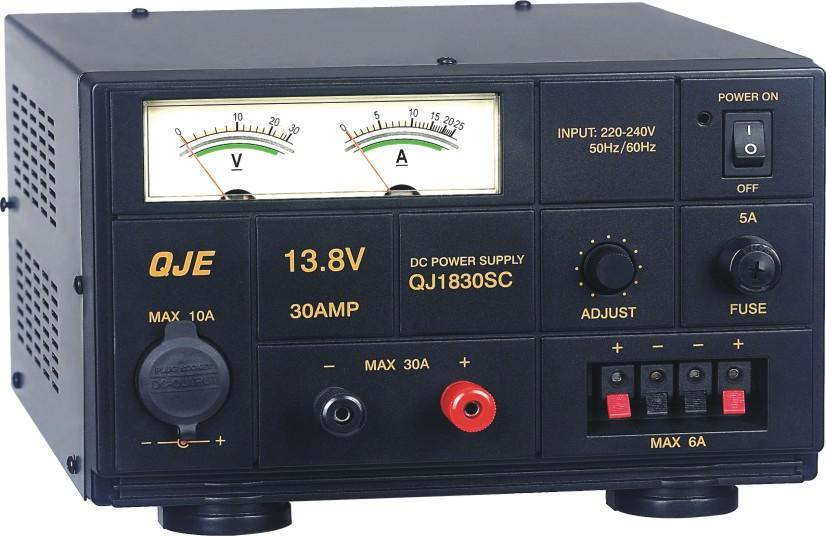 Блок питания QJE QJ1820SC (15/20А, трансформаторный, регулируемый 1,5-15V)