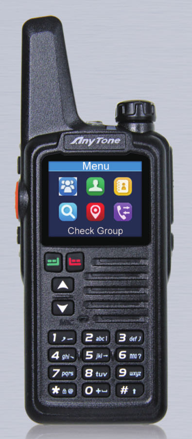 WCDMA радиостанция AnyTone W8