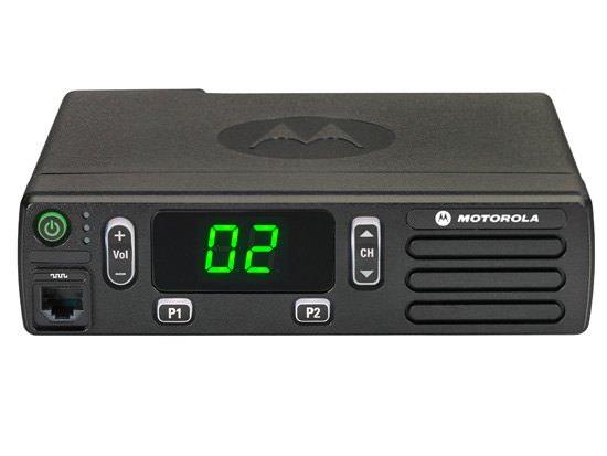 Мобильная аналоговая р/ст MOTOROLA MDM01QPC9JC2N DM1400