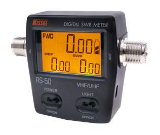 Прибор для измерения КСВ и мощности  NISSEI RS-50